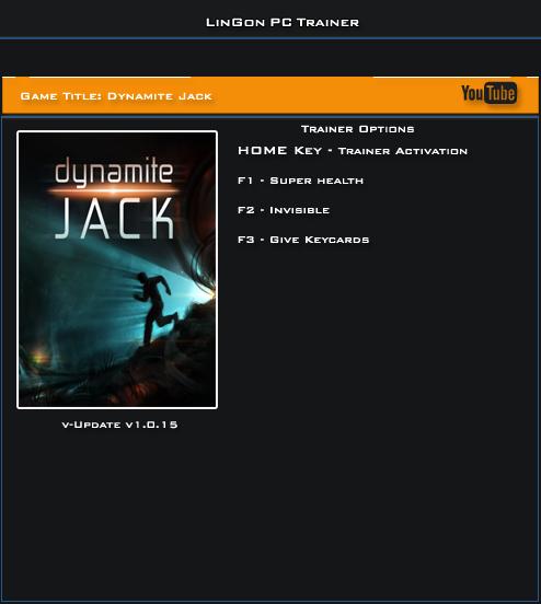 Dynamite Jack v1.0.15 Trainer +3 [LinGon]