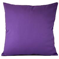 almofada color block, almofada cor lisa, almofada roxa, almofada violeta
