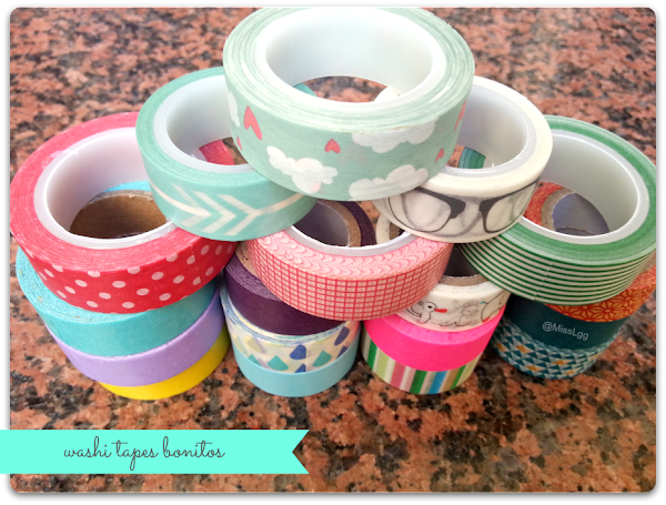 D�nde comprar washi tapes
