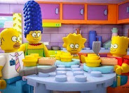 The Simpsons doing a whole episode in LEGO