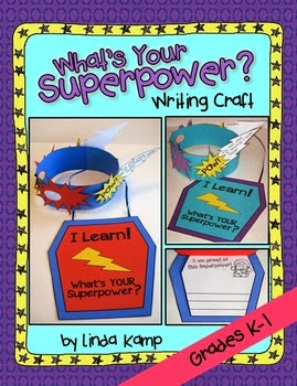 http://www.teacherspayteachers.com/Product/Learning-Is-My-Superpower-Writing-Craft-Mask-Shield-Booklet-1221483