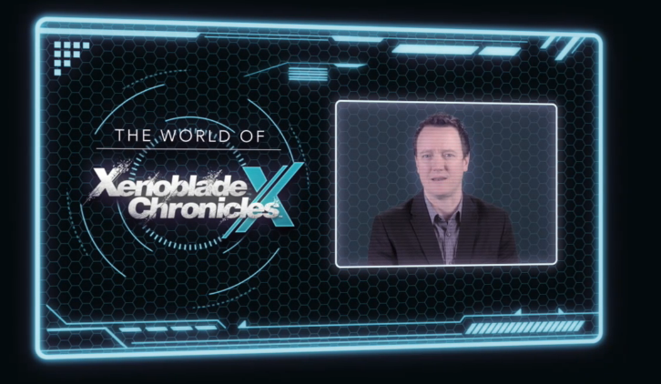 Bill Trinen Xenoblade Chronicles X Nintendo Treehouse