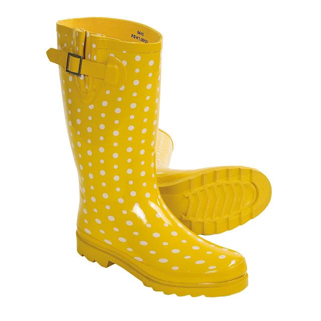Rain Boots Yellow4
