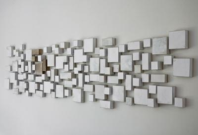 White Wall Art Installation 76