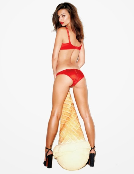 Emily Ratajkowski by Terry Richardson for GQ November 2013