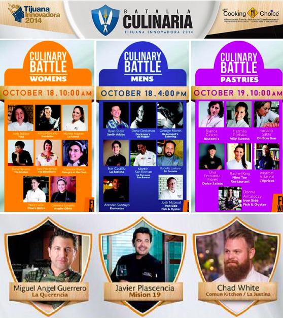 Batalla Culinaria October 18 & 19