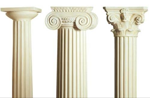 Sezione aurea arte e architettura for Aggiornare le colonne del portico