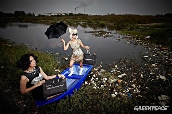 Campaña de Greenpeace contra los tóxicos en la moda