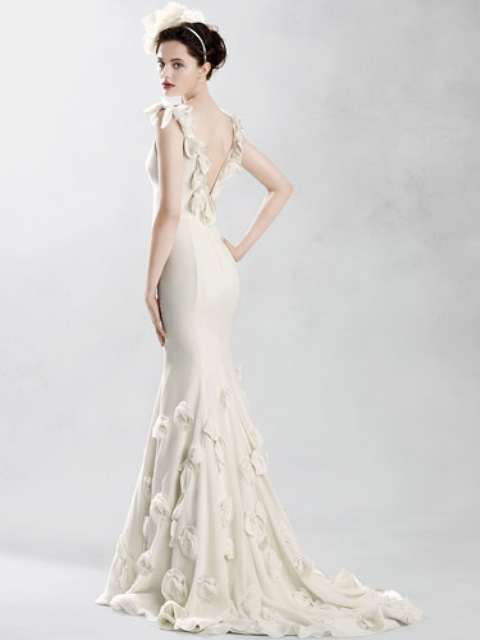 Sheath Wedding Dress