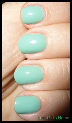 OPI Mermaid tears swatches and review