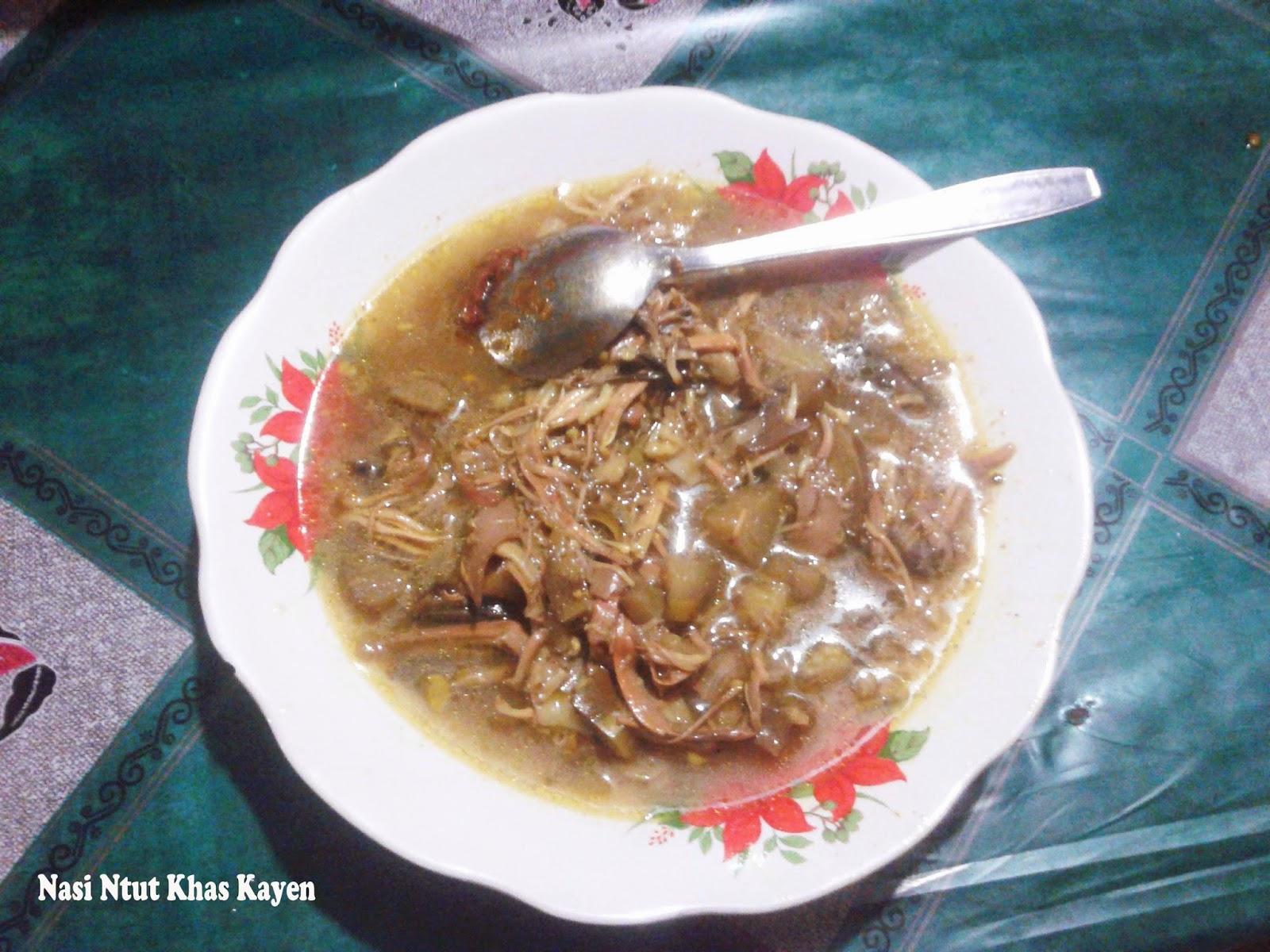 Wisata Kuliner Khas Kayen Pati, Nasi Ntut