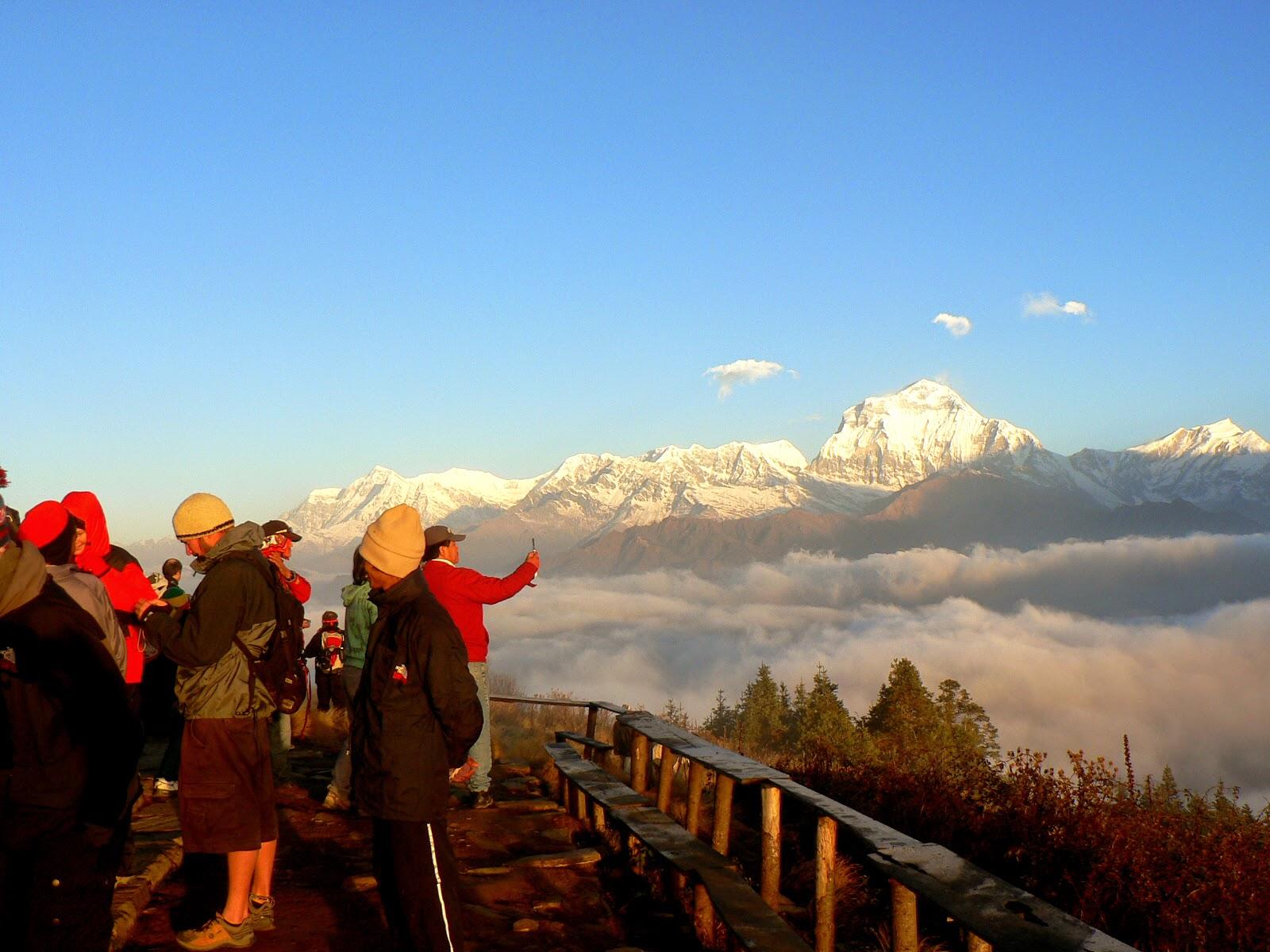 annapurna ghorepani poon hill trekking photos