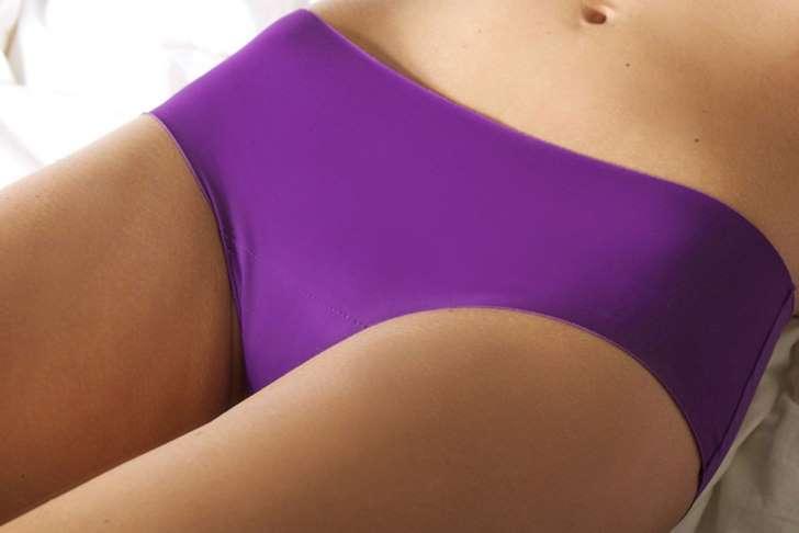 Calcinha com silicone: Não marca na roupa