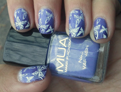 Mua frozen yogurt gradient orly wild wisteria black and white challenge day 6