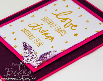 Life Advice on a Graduation Card Thanks To Project Life by Stampin' Up!  Check out this blog!