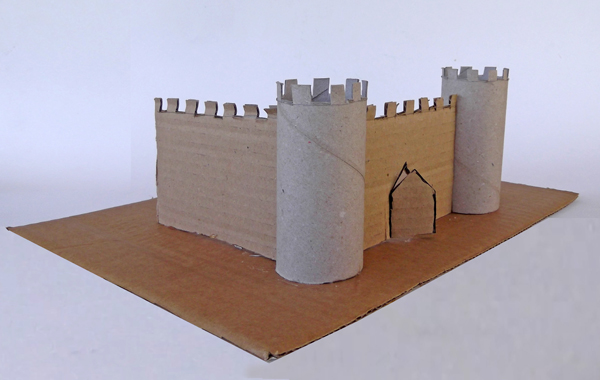 how to make paper castle, how to make castle from toilet paper rolls, castle diy,