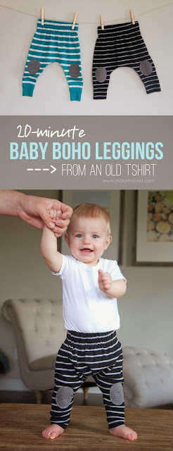 Protected knee baby legs sewing tutorial