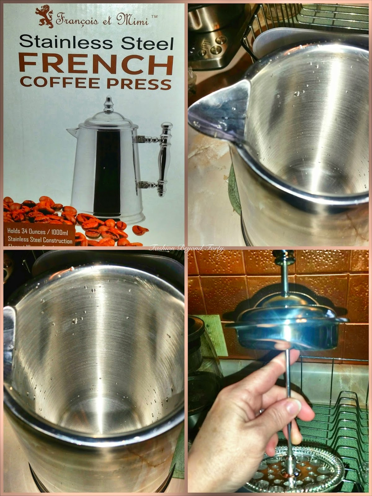 Francois et Mimi Vintage Double Wall French Press Review