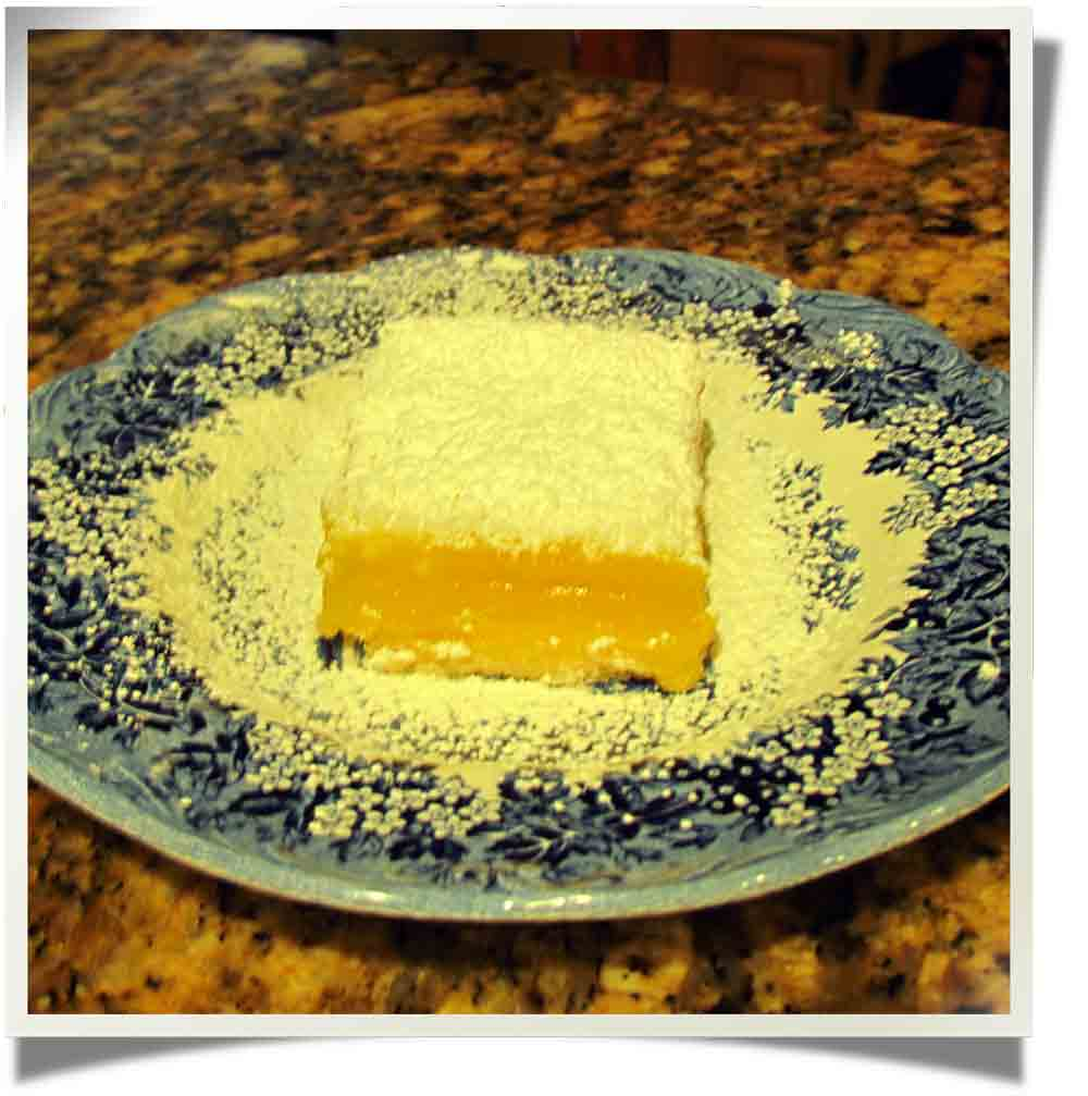 Jan CAN Cook: Barefoot Contessa, Ina Garten's Wonderful Lemon Bars