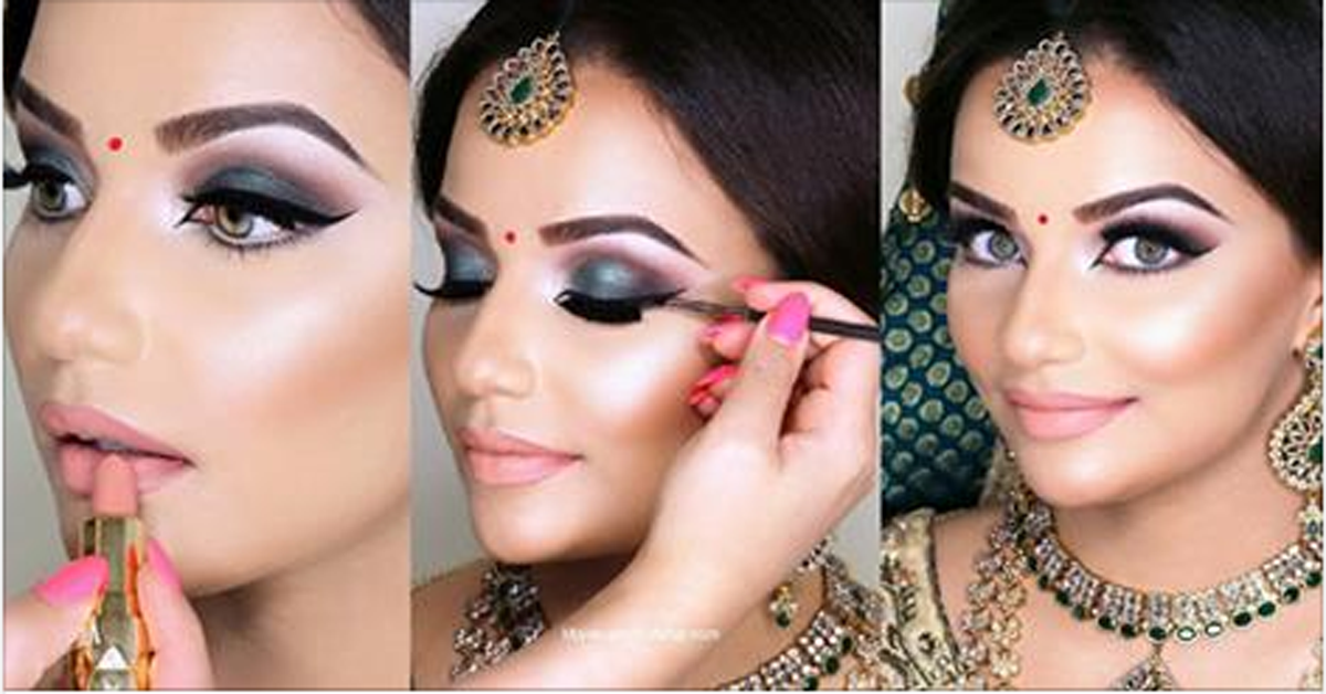Step By Step Indian Pakistani Bridal Makeup Tutorial Of 2016