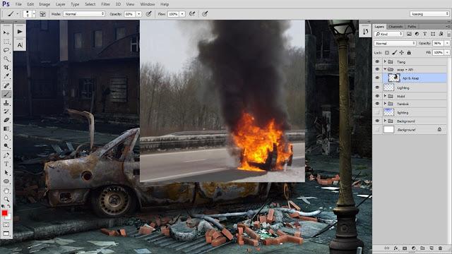 27 Tutorial Photoshop Dramatic Manipulation WAR part 2