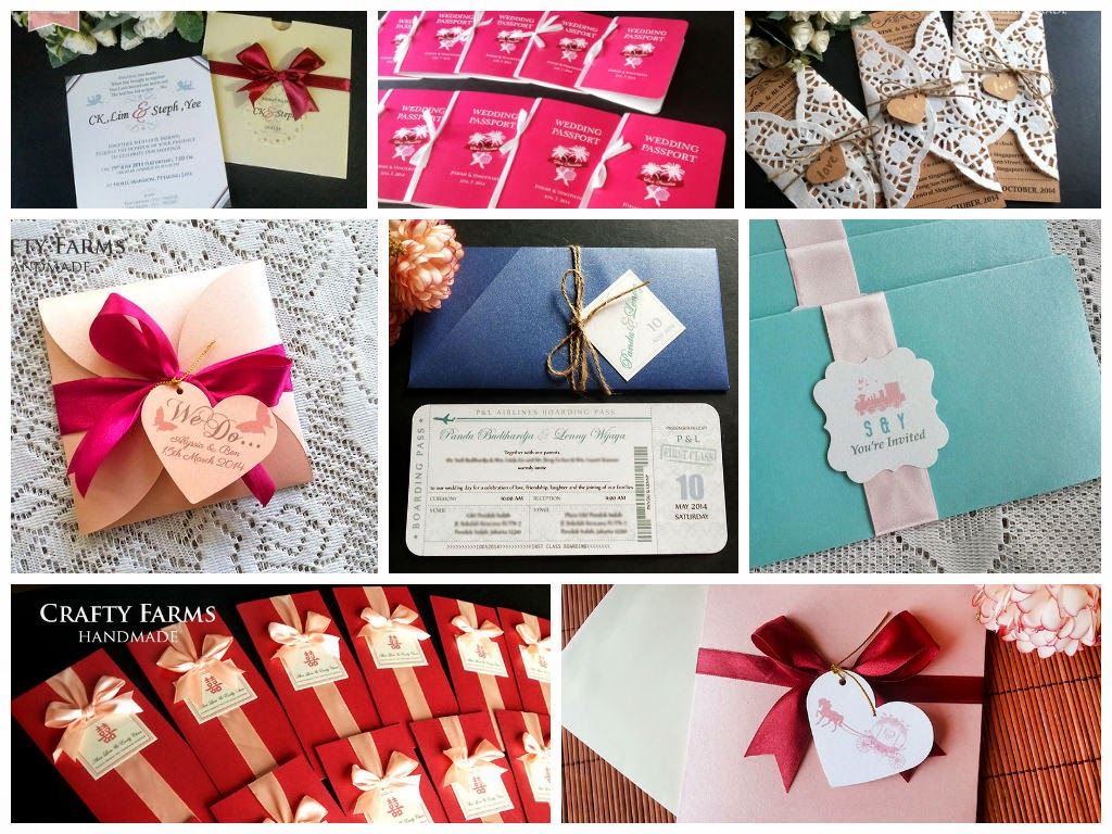 Wedding Card Malaysia | Crafty Farms Handmade : WEDDING CARDS