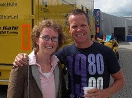 Met Eric Hulsebos racen tegen kanker op Assen 2009.