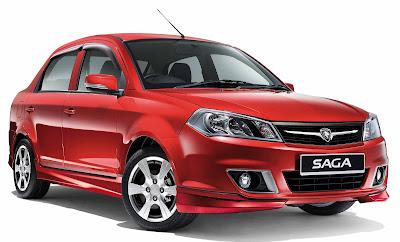 Harga Dan Spesifikasi Mobil Proton Saga