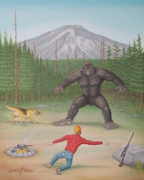 Bigfoot Encounter?