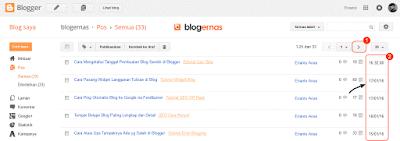 Cara Mengetahui Tanggal Pembuatan Postingan di Blog