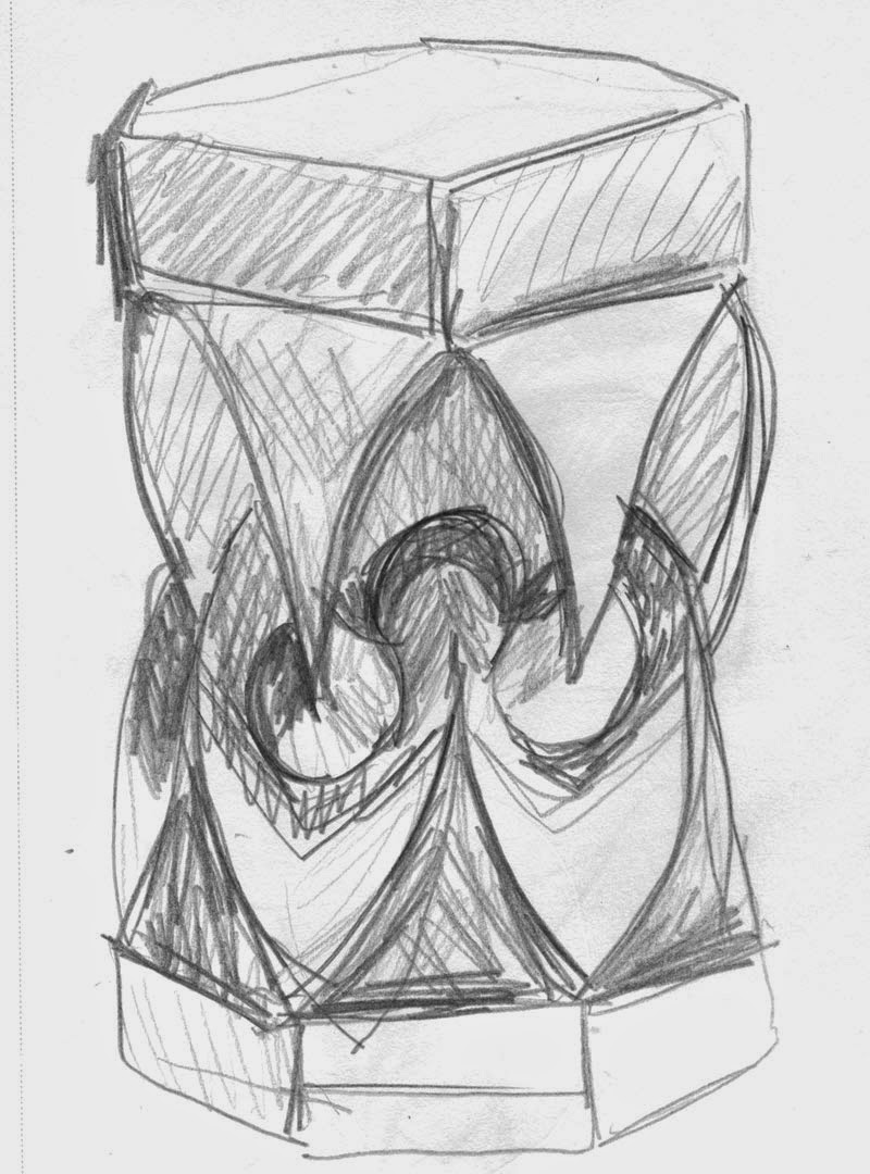 Sketch of origami