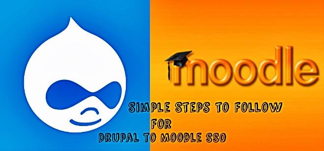 Drupal to Moodle SSO