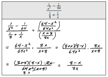 math worksheet : openalgebra  complex rational expressions : Dividing Complex Fractions Worksheet