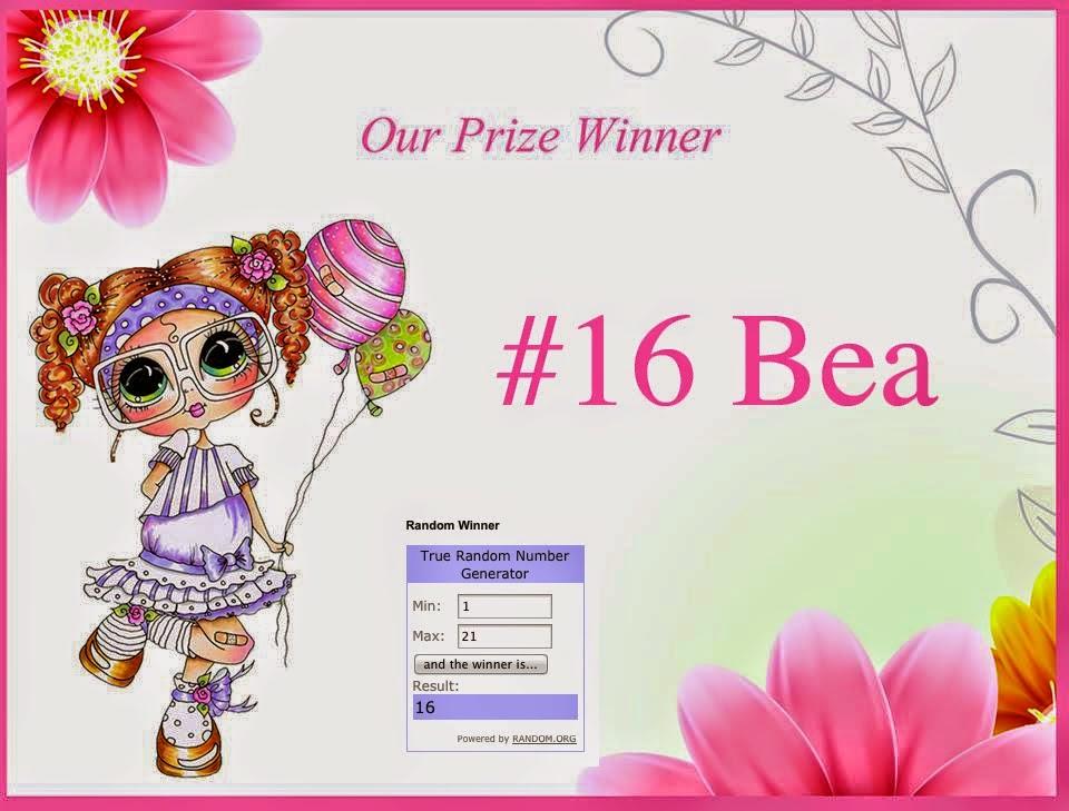 # 16 gewonnen bij My Besties