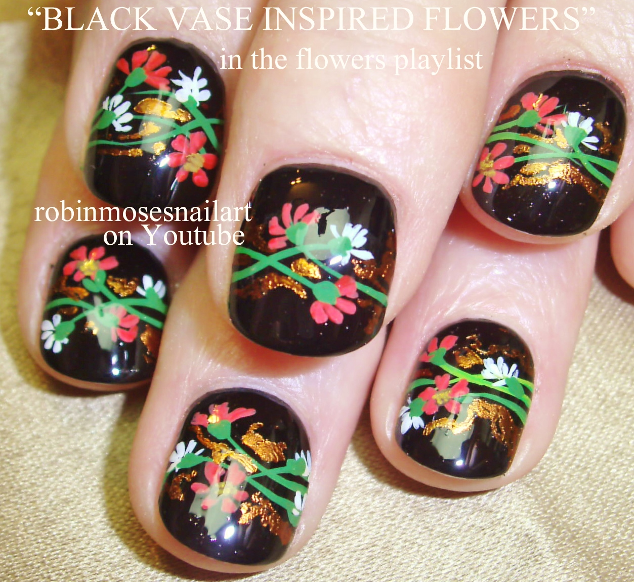 Flower Dotticure Nail Art – Polished and Paleo