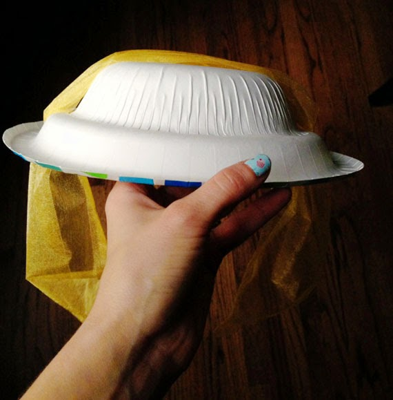 Mammagranate paper plate tea party hats for How to decorate a hat for a tea party