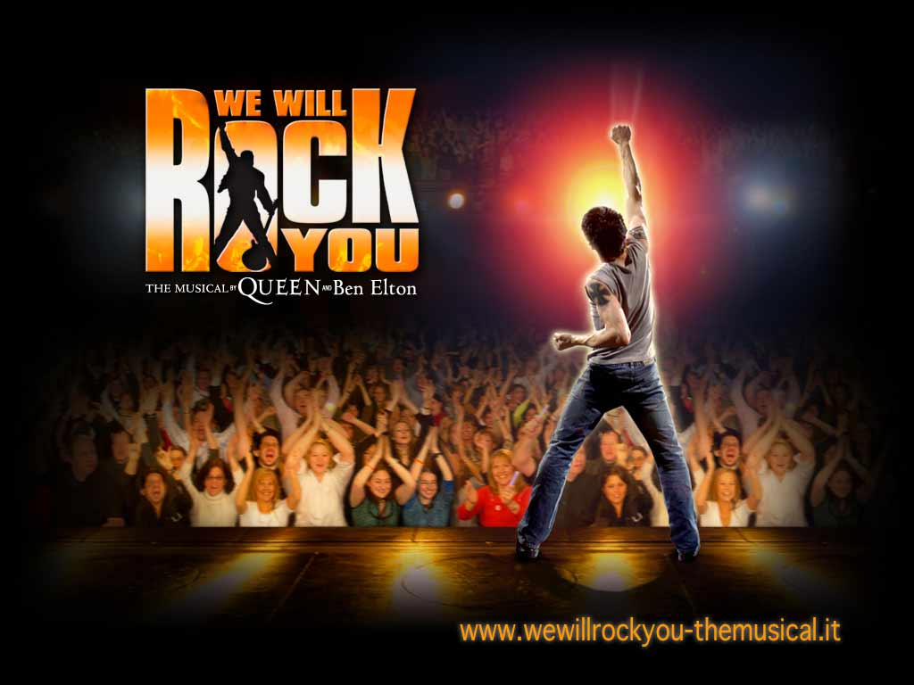 "AUDIZIONI PER IL MUSICAL ""WE WILL ROCK YOU"""