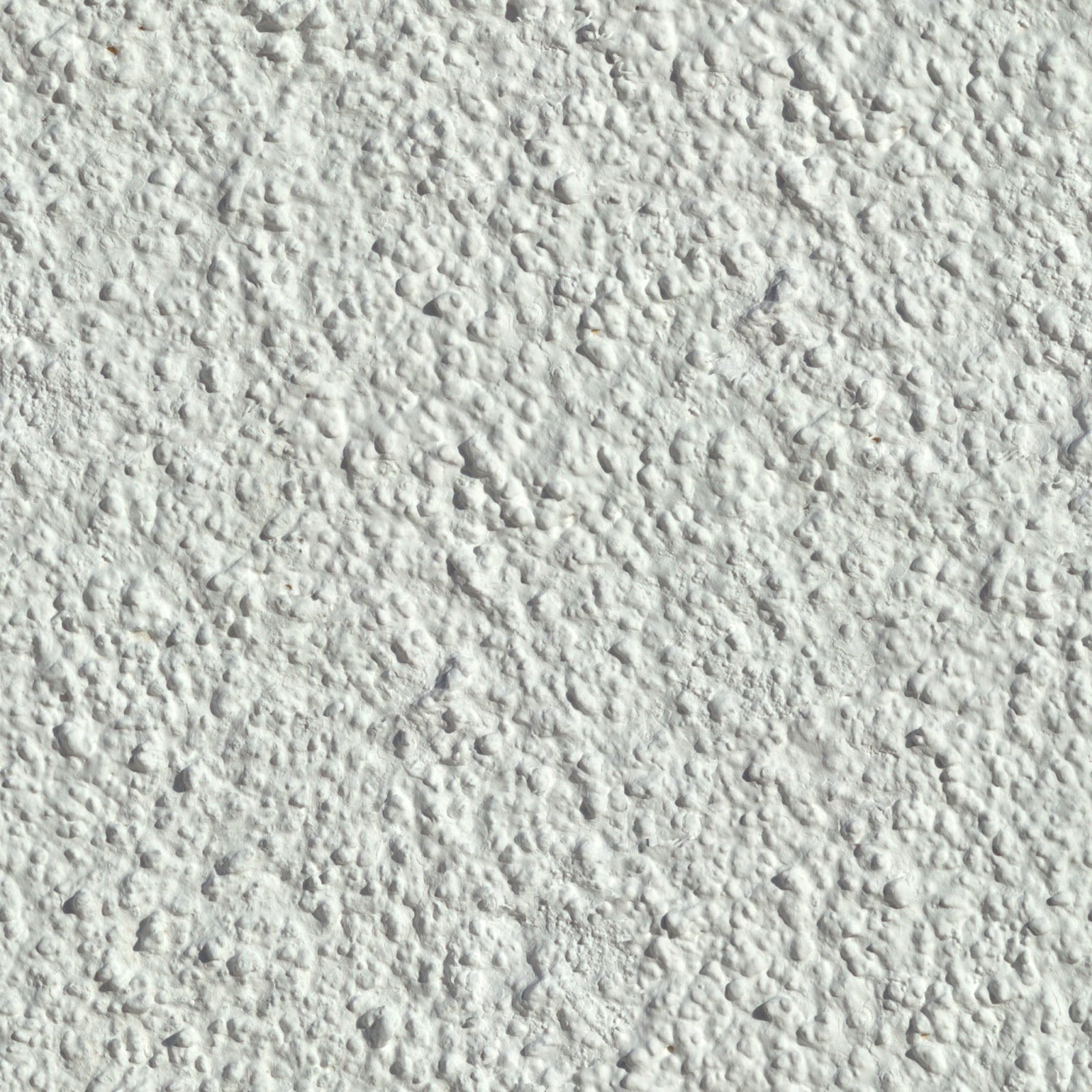 Stucco white wall plaster detailed seamless texture 2048x2048