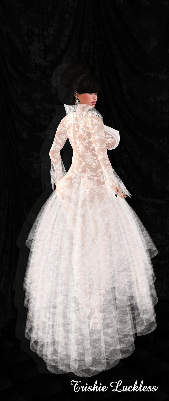 Luckie Inc New Tango Lush Gown Dress Ballroom Wedding