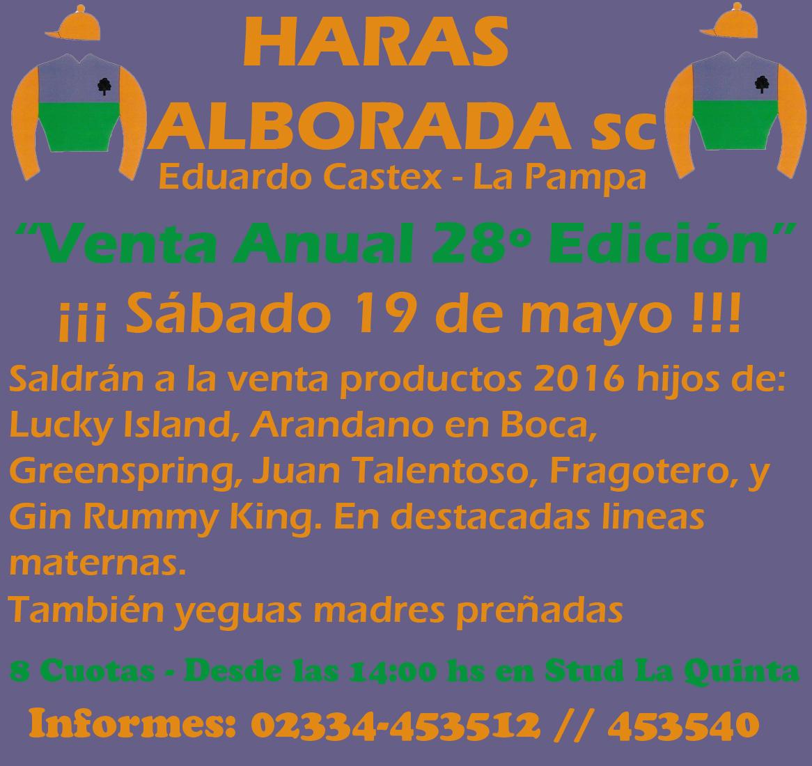 HARAS ALBORADA