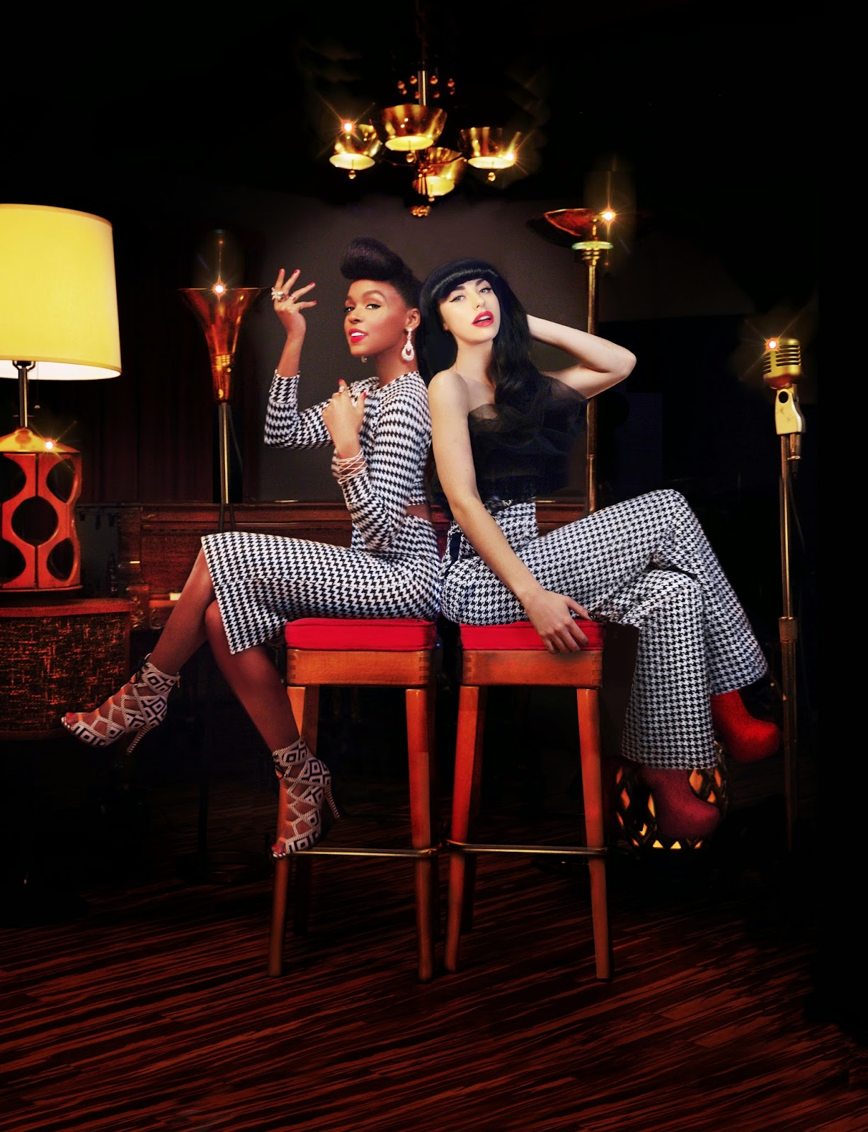 The Golden Electric Tour - Kimbra and Janelle Monae by Thom Kerr