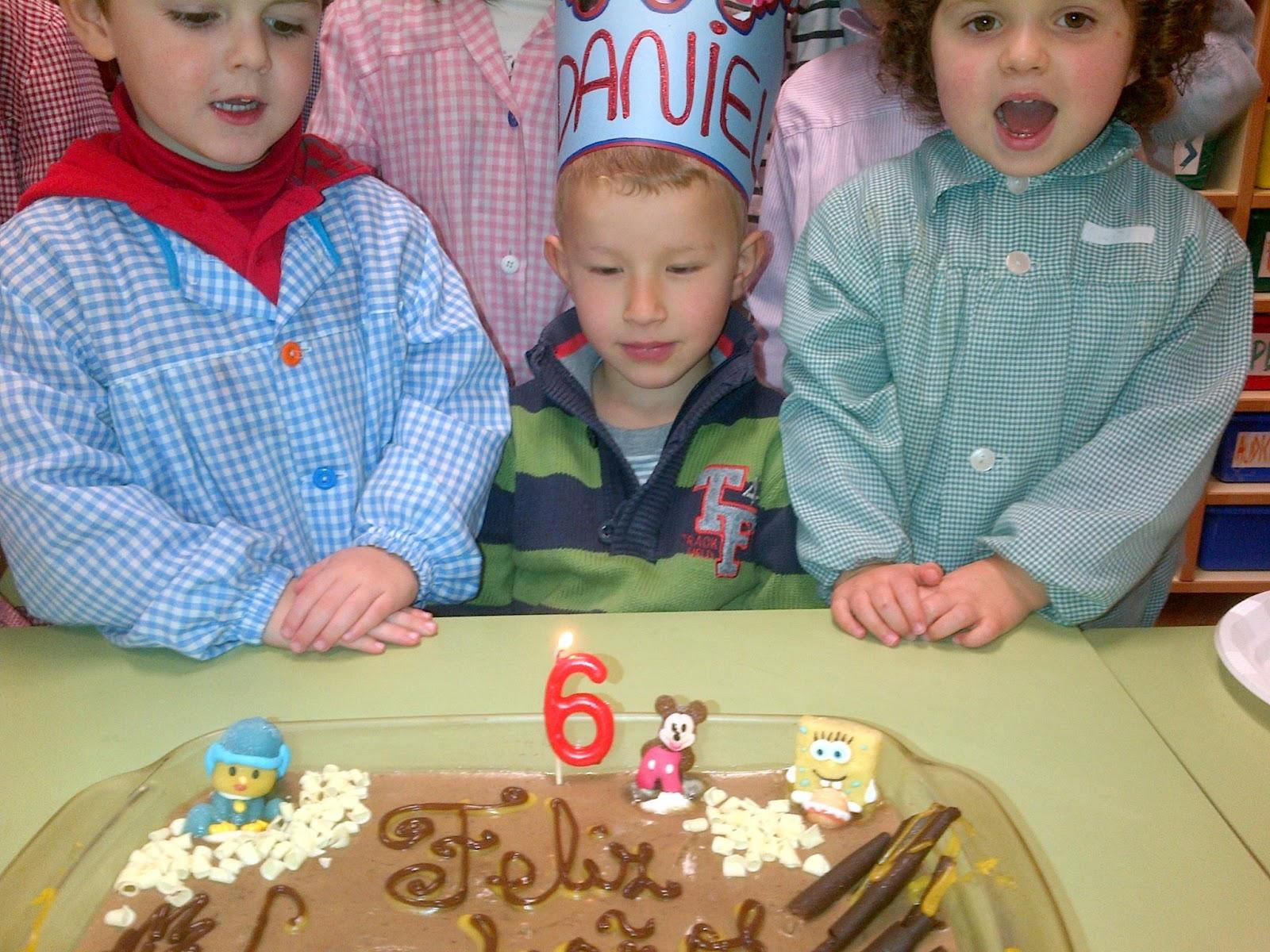 Dani cumple 6 años