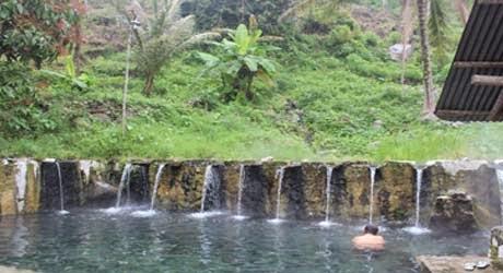 Pemandian Air Panas Bukik Gadang Di Talang Kab Solok