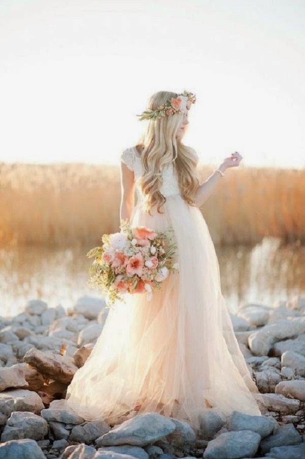 falda vestido novia volumen