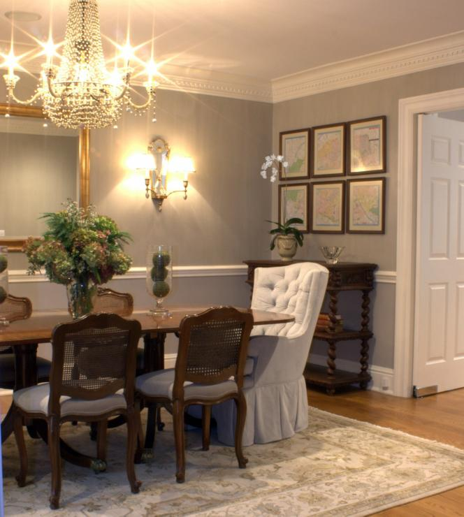 Inspirational Eye Candy – Gray Dining Rooms