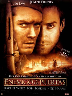 Film - Enemy at the Gates - clash between 2 snipers in WWII (released in 2001)