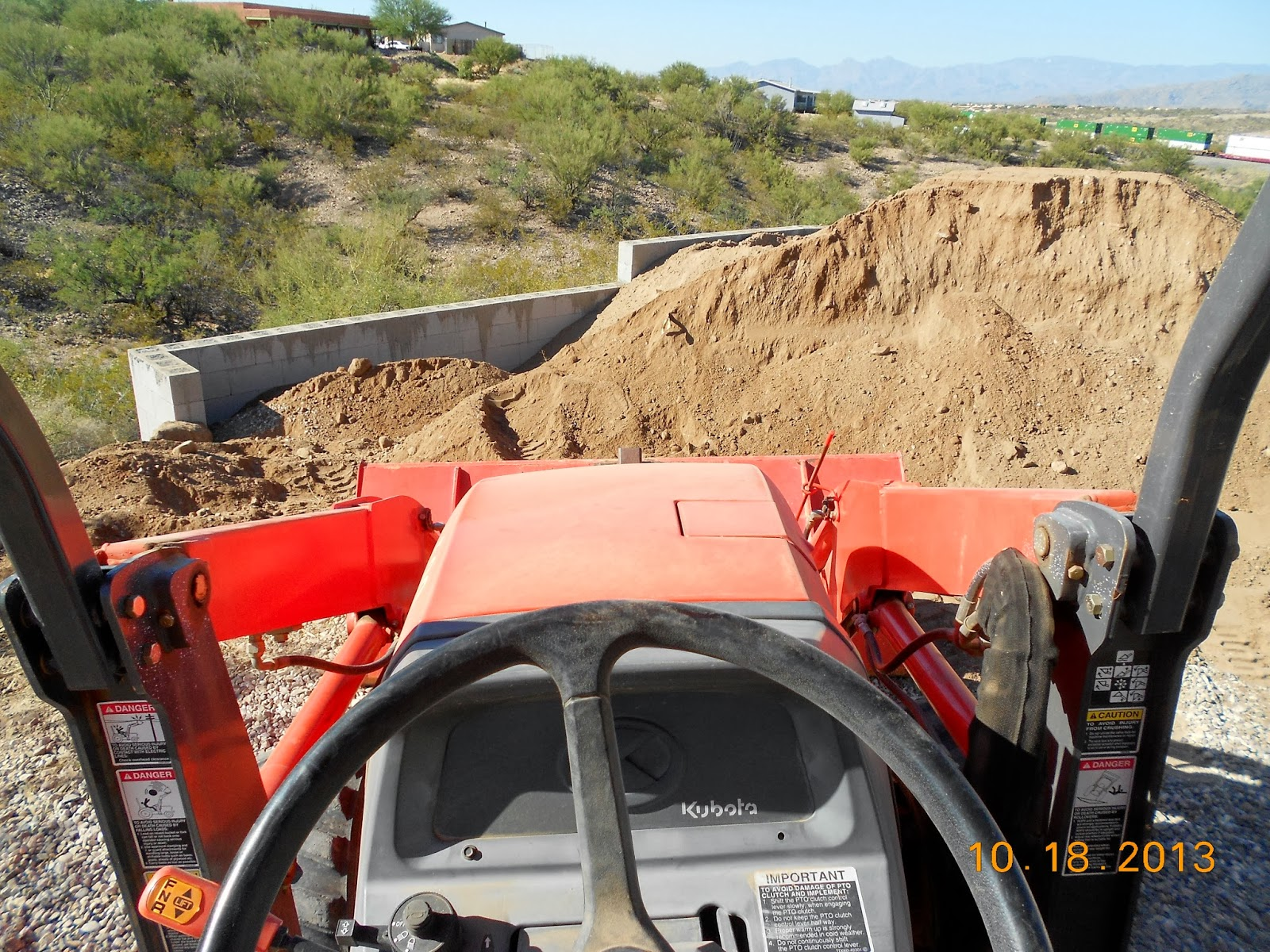 10 Tons Of Dirt : By chance tons of dirt