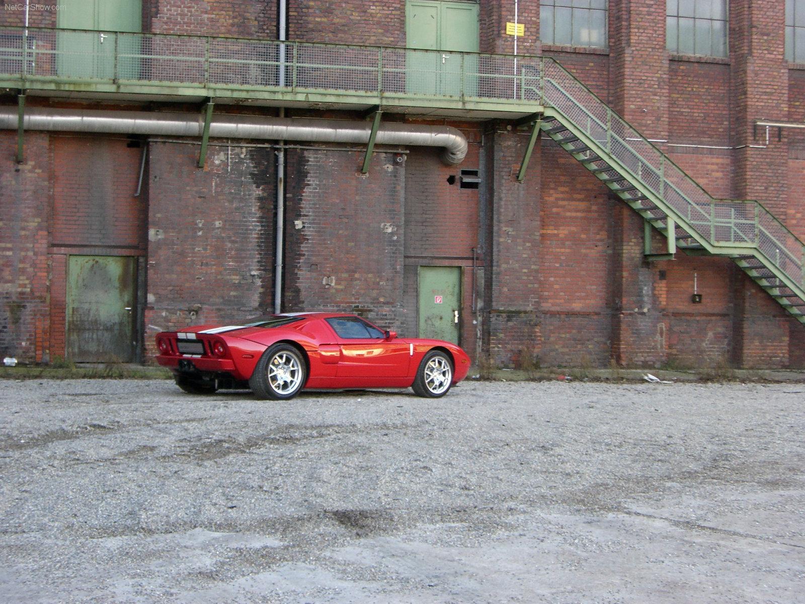 Hình ảnh siêu xe Edo Ford GT 2006 & nội ngoại thất
