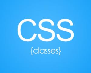 CSS classes
