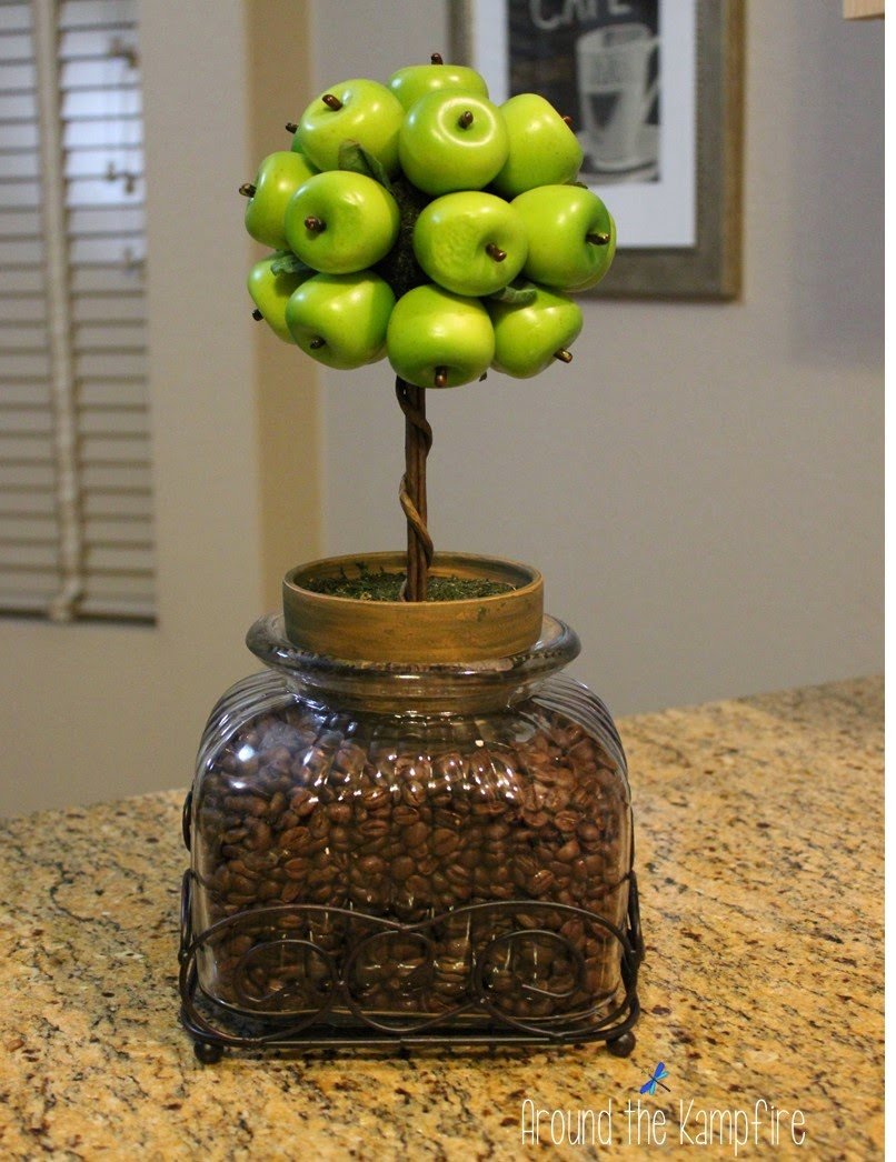 Apples and coffee for the tired teacher!